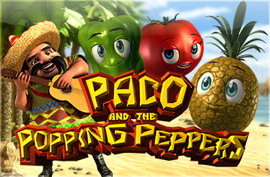betsoft_games - Paco and the Popping Peppers
