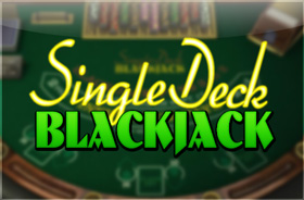 betsoft_games - Single Deck Blackjack