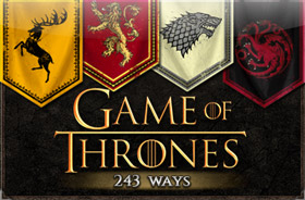 microgaming - Game of Thrones 243 Ways