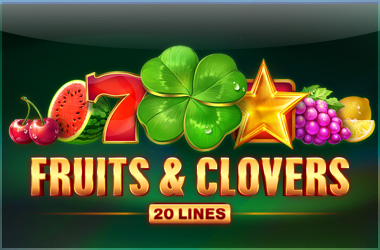 playson - Fruits and Clovers: 20 Lines