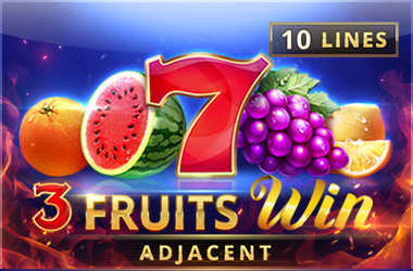 playson - 3 Fruits Win: 10 Lines
