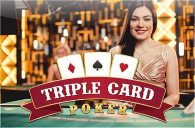 evolutiongaming - Evolution Live Triple Card Poker