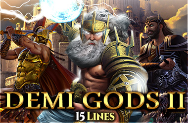 spinomenal - Demi Gods II 15 Lines Series