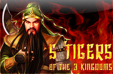 gamefish-global - 5 Tigers Of The 3 Kingdoms