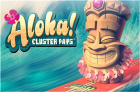 netent - Aloha! Cluster Pays