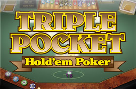 microgaming - Triple Pocket Holdem Poker