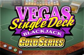 microgaming - Vegas Single Deck Blackjack Gold